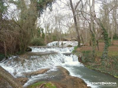 Parque Natural Monasterio de Piedra; rutas y mapas; madrid turismo;accesorios para senderismo